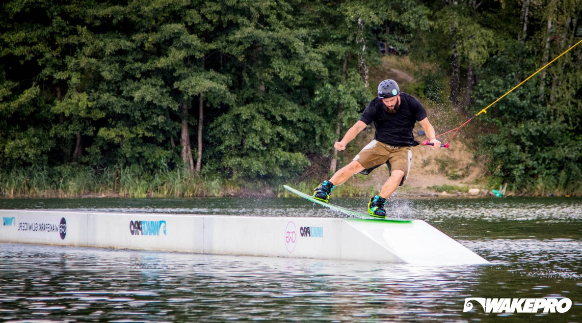 Wakepro obstacles at CWG Wakepark