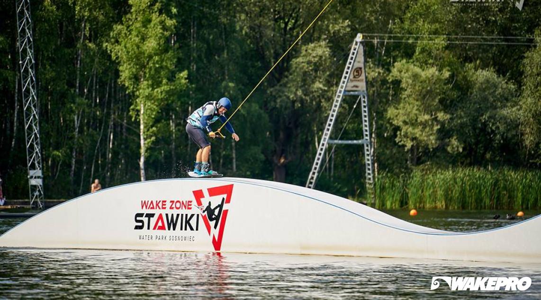 Wakepro obstacle in Wake Zone Stawiki